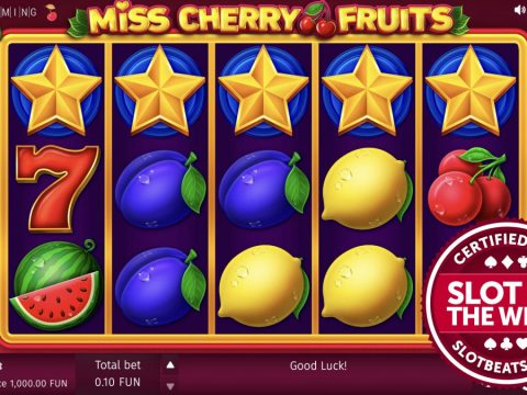 """BGaming has taken it back to the classics claiming SlotBeats' Slot of the Week award with its """"traditional-style"""" slot title, Miss Cherry Fruits."""